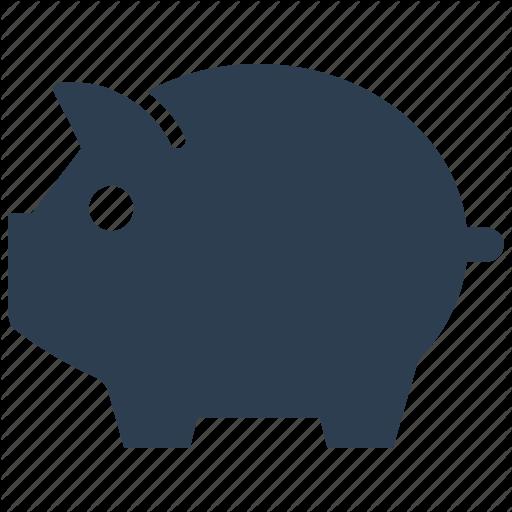 Deposit, Piggy Bank, Savings Icon