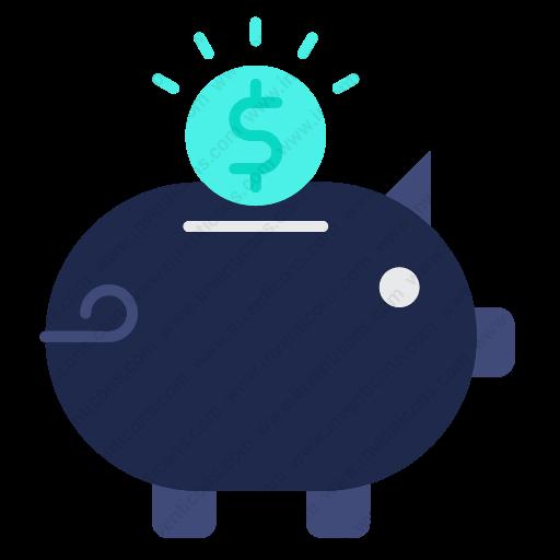 Download Piggy,bank Icon Inventicons