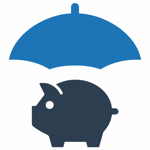 Money, Piggy Bank, Protection, Savings, Secure Icon