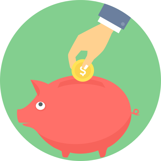 Piggy Bank Save Png Icon