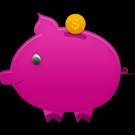 Piggy Bank Icon Pretty Office Iconset Custom Icon Design