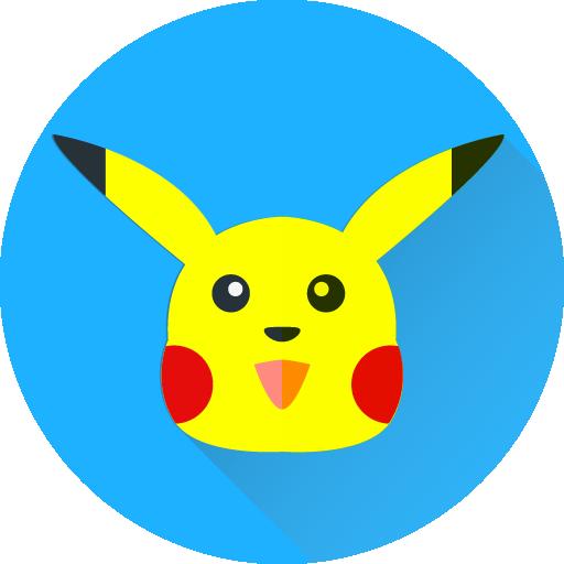 Cheenu On Twitter My Pikachu Flat Icon