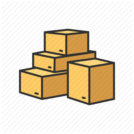 Boxes, Delivery Box, Pile Of Boxes, Shopping Icon