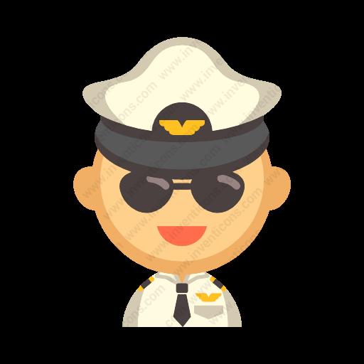 Download Pilot Icon Inventicons