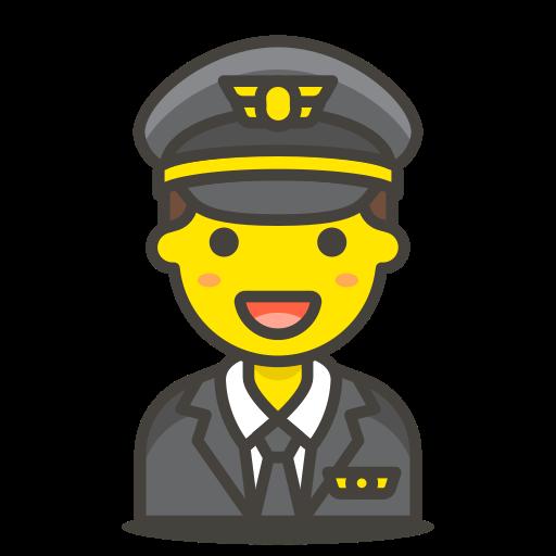 Man, Pilot Icon Free Of Free Vector Emoji