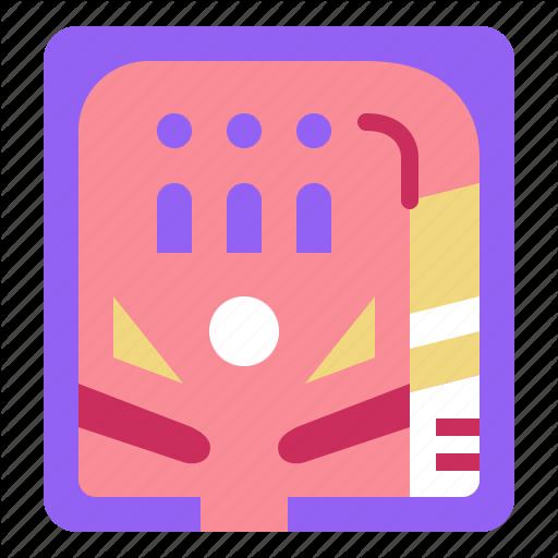 Game, Gaming, Leisure, Pinball Icon