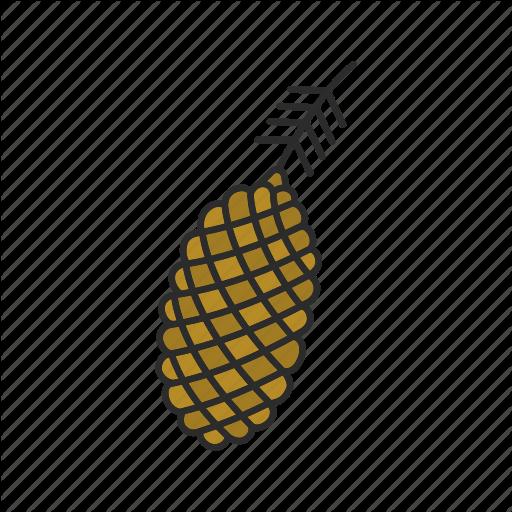 Cone, Conifer, Fir, Pine, Pinecone, Spruce, Tree Icon