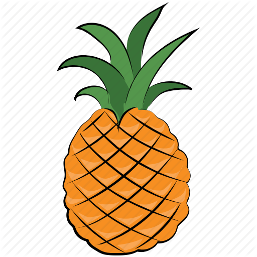 Ananas, Ananas Comosus, Diet, Fruit, Pineapple Icon