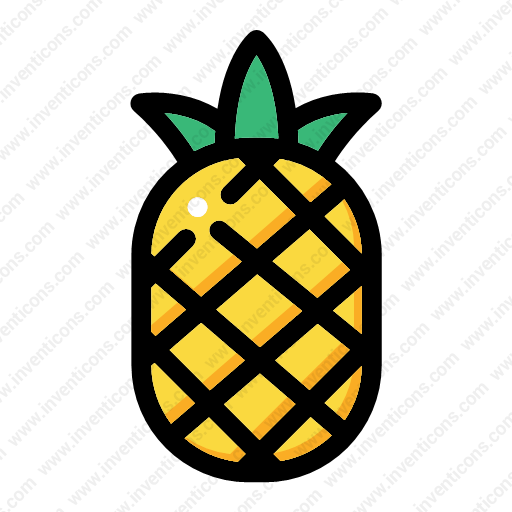 Download Pineapple Icon Inventicons