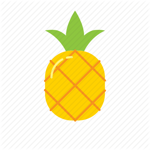 Food, Fruit, Icon, Nature, Pineapple Icon