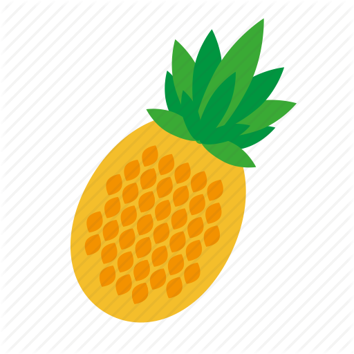 Food, Fruit, Kitchen, Nature, Pineapple Icon