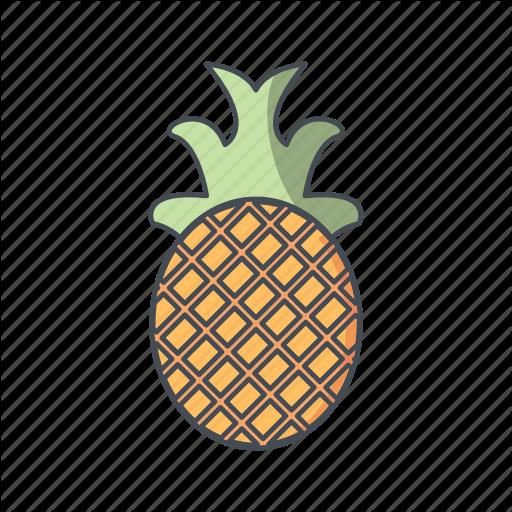 Ananas, Fruit, Pineapple Icon