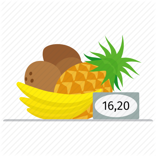 Banana, Coconut, Food, Fresh, Fruit, Market, Pineapple, Price