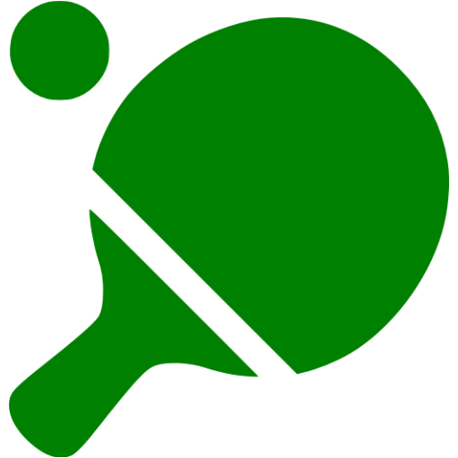 Green Ping Pong Icon