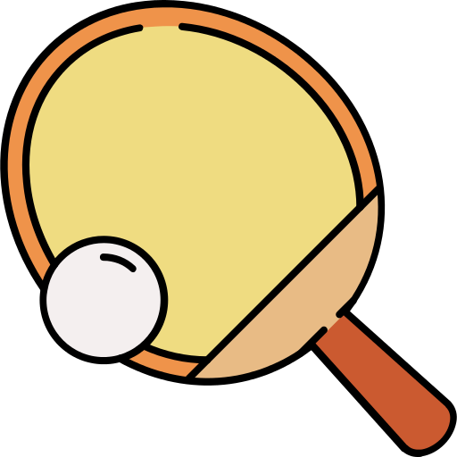 Table Tennis Ping Pong Png Icon