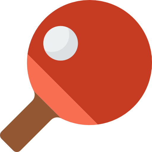Sports, Ping Pong, Equipment, Racket, Table Tennis Icon