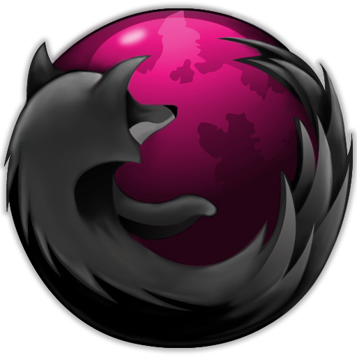 Pink And Black Firefox Windows