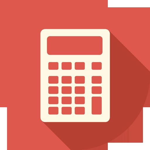 Calculator Icon Long Shadow Media Iconset Pelfusion