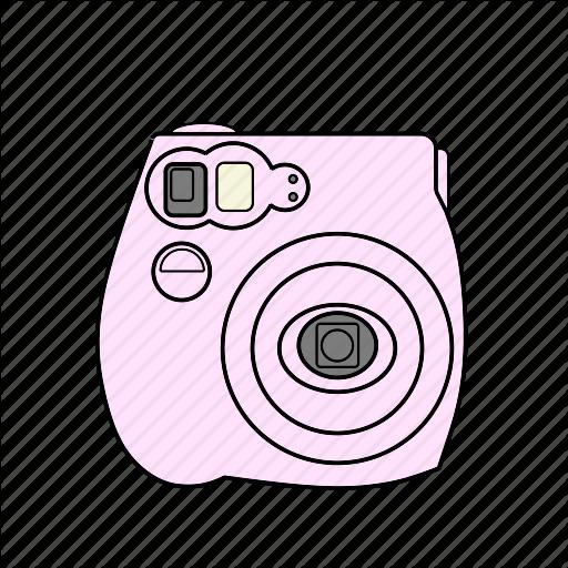 Capture, Film, Istant, Photo, Pink, Polariod, Selfie Icon