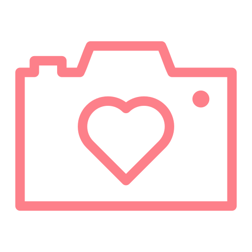 Camera, Love, Heart Icon Free Of Love And Valentines Day Icons