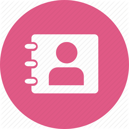 Address Book, Contacts, List, Phone Book, Telephone Diary Icon