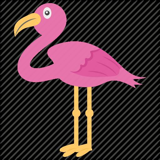 African Bird, Animal, Bird, Flamingo, Wading Bird Icon