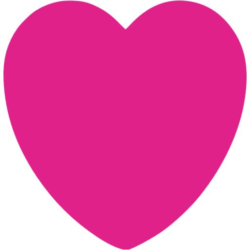 Barbie Pink Heart Icon