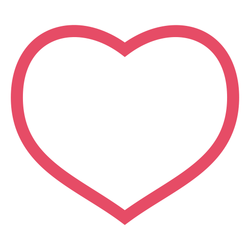 Heart, Love, Pink, Red, Valentine, Valentine's Day Icon