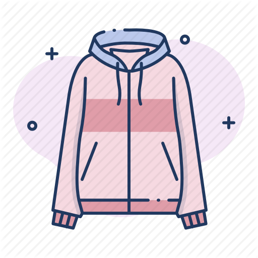 Clothes, Clothing, Hooded Top, Hoodie, Jacket, Outfit Icon