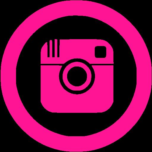 Deep Pink Instagram Icon