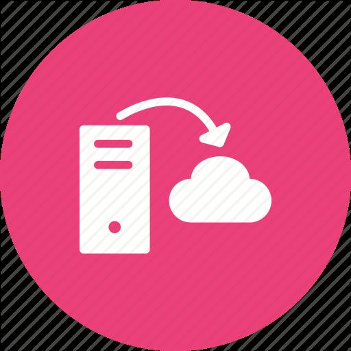 Cloud, Data, Hosting, Internet, Network, Server, Storage Icon