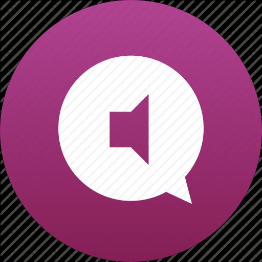Audio, Bubble, Chat, Comment, Message, Messaging, Music, Sound Icon