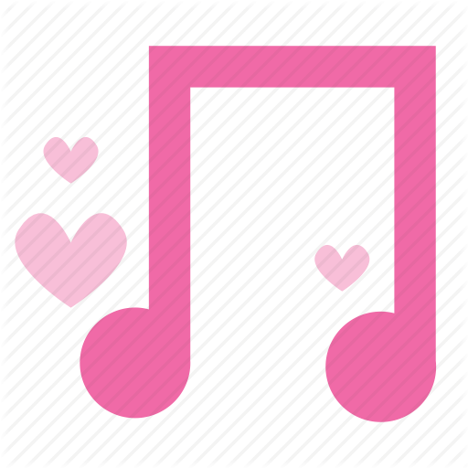 Love, Melody, Music, Note, Song Icon