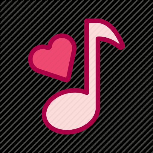Love, Music, Romantic, Song, Valentine, Wedding Icon