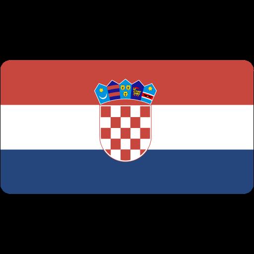 Croatian, Flag, Flags Icon Free Of Flat Europe Flag Icons