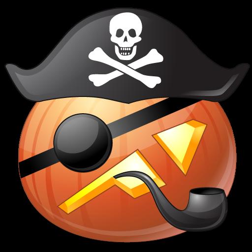 Pirate Captan Vista Halloween Iconset Icons Land