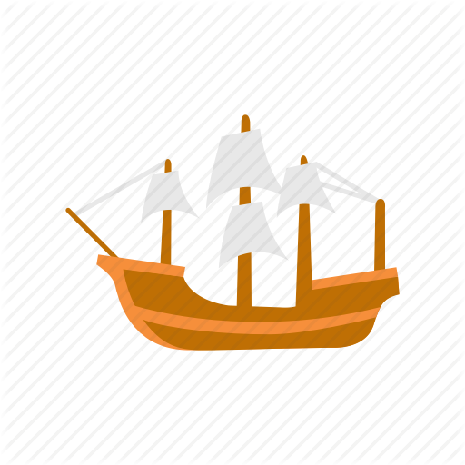Boat, Mayflower, Pirate Ship, Ship Icon