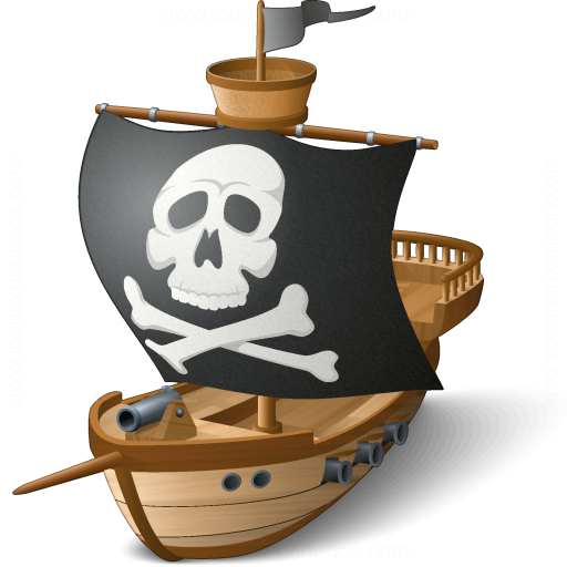 Iconexperience V Collection Pirates Ship Icon