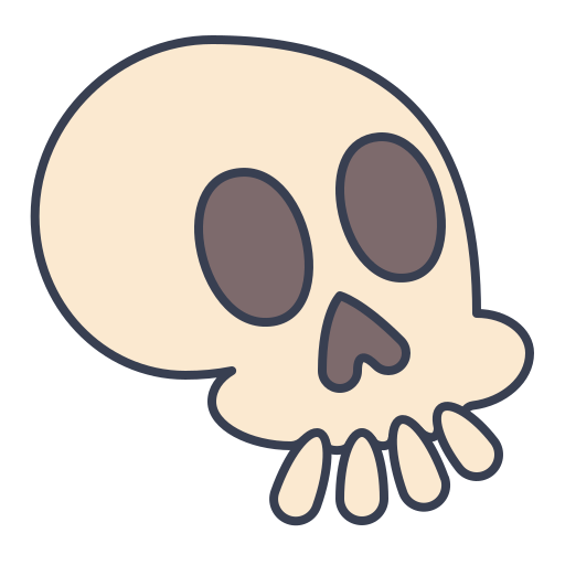 Skull Icon Free Of Trick Or Treat