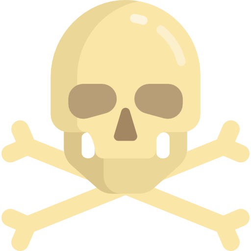 Miscellaneous, Poison, Pirate, Skull And Bones, Jolly Roger Icon
