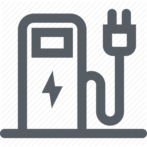 Charger, Charging Point, Electricity, Ev, Ev Station Icon