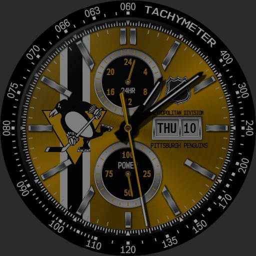 Sports Pittsburgh Penguins Nhl Racer Watchfaces For Smart Watches