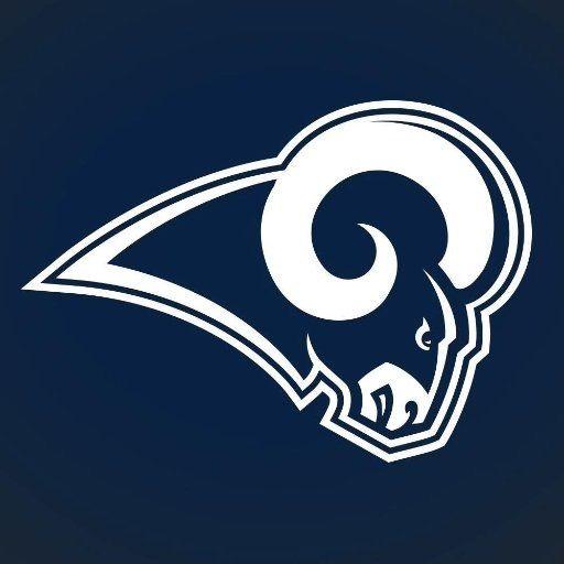 Go Rams Los Angeles Rams Sports Logo, La