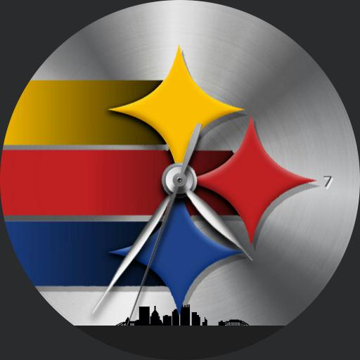 Sports Pittsburgh Steelers Watchfaces For Smart Watches