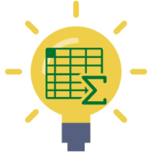 Cropped Light Bulb And Spreadsheet Logo Icon How To Excel