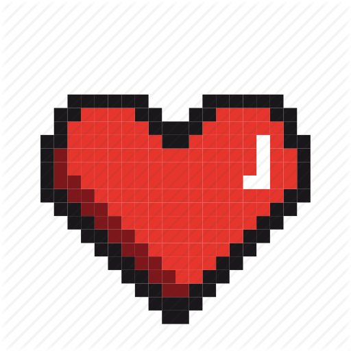 Couple, Fall In Love, Heart, Love, Lovers, Pixels, Valentine Icon