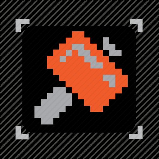 Hammer, Pixel Icon