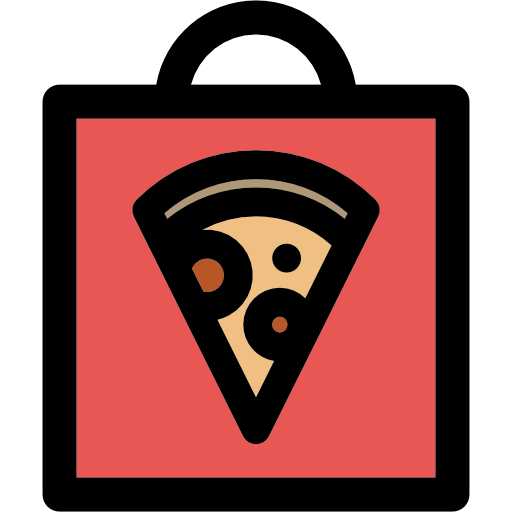 Bag, Pizza, Delivery Icon