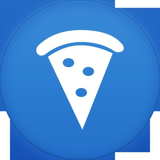 Pizza Icon Circle Addon Iconset