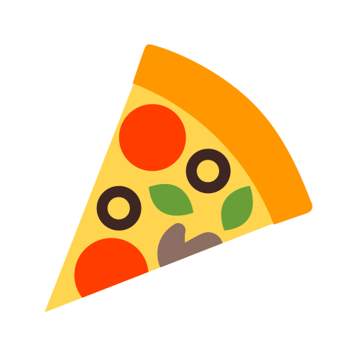 Pizza Outline Them Icon With Png And Vector Format For Free